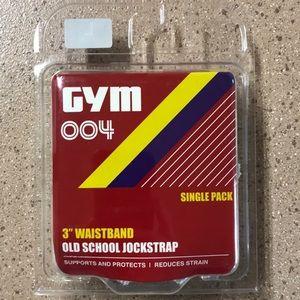 GYM Old School Jockstrap Lg - 3in waistband